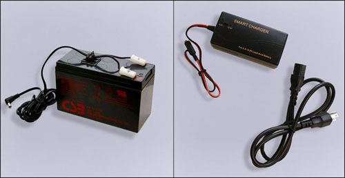 Scoreboard Battery and Charger